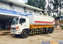 Bán xe bồn - xitec Hino FL8JTSA 3 chân thùng chở cám, xe tải Hino chính hãng 2017 giá 1 tỷ 510 triệu  (~71,905 USD)
