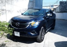 Cần bán xe Mazda BT 50 đời 2016, màu xanh lam, nhập khẩu Thái, giá chỉ 595 triệu