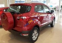 Cần bán Ford EcoSport Titanium 1.5AT đời 2017, màu đỏ