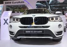 Bán xe BMW chính hãng - BMW X3 xDrive 20i 2017, màu trắng, nhập khẩu - Giá tốt nhất, giao nhanh nhất