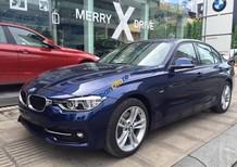 BMW 3 Series 330i đời 2017, màu xanh lam, nhập khẩu nguyên chiếc, giá tốt nhất, giao xe sớm nhất