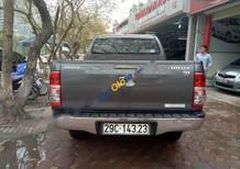 Cần bán Toyota Hilux G 4x4MT 2012, màu xám, xe nhập