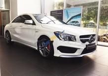 Cần bán gấp Mercedes CLA 45 AMG đời 2015, màu trắng, nhập khẩu chính hãng