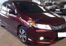 Cần bán Honda City 1.5AT năm sản xuất 2016, màu đỏ, nhập khẩu nguyên chiếc, giá tốt