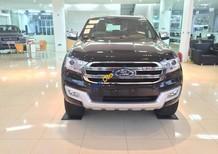 Bán Ford Everest 2.2L titanium đời 2017, màu đen, nhập khẩu, giao ngay, hỗ trợ trả góp toàn quốc