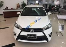 Bán Toyota Yaris năm 2017, màu trắng, nhập khẩu chính hãng