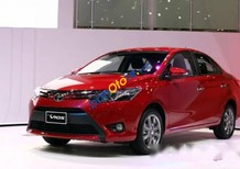 Cần bán lại xe Toyota Vios đời 2015, màu đỏ giá cạnh tranh