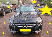 Salon ô tô Kiên Cường bán xe Mercedes C200 đời 2015, màu đen