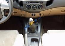 Cần bán xe Toyota Fortuner 2.5 G đời 2013, màu bạc, 860tr