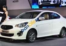 Cần bán Mitsubishi Attrage 2016, màu trắng, nhập khẩu nguyên chiếc, giá chỉ 447 triệu