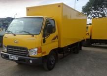 Cần bán xe tải 2,5 tấn - dưới 5 tấn HD650 2017, màu vàng, 568tr, hỗ trợ 100% lệ phí trước bạ