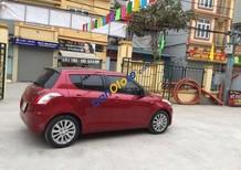 Cần bán xe cũ Suzuki Swift đời 2014, màu đỏ chính chủ