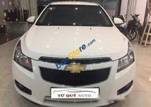 Tứ Quý Auto cần bán gấp Chevrolet Cruze LS 1.6MT năm 2015, màu trắng số sàn