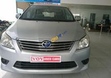 Toyota Innova 2.0E sản xuất 2013, màu bạc