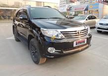 Xe Toyota Fortuner 2.7V 4X4AT 2015, màu đen