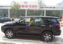 Cần bán xe Toyota Fortuner đời 2017, màu đen, nhập khẩu nguyên chiếc