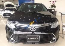 Bán ô tô Toyota Camry đời 2017, màu đen