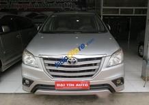 Bán Toyota Innova 2.0E MT sản xuất 2014, màu bạc số sàn, giá chỉ 715 triệu
