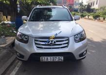 Cần bán xe Hyundai Santa Fe SLX 2011, full options, màu bạc, nhập khẩu