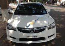 Bán Honda Civic 1.8MT sản xuất 2011, màu trắng số sàn giá cạnh tranh