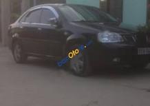 Bán xe cũ Daewoo Lacetti đời 2004, màu đen