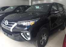 Bán xe Toyota Fortuner 4x2AT 2017, màu đen, nhập khẩu chính hãng