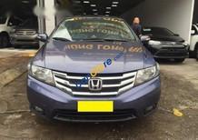 Bán Honda City 1.5 AT đời 2014, màu tím, giá 485tr