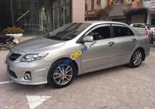 Bán gấp xe cũ Toyota Corolla altis 2.0V đời 2012, màu bạc