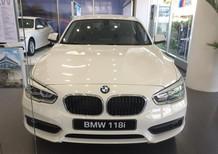 Bán BMW 1 Series 118i 2017, phiên bản mới nhất, màu trắng, nhập khẩu nguyên chiếc