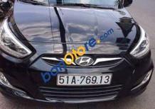 Xe Hyundai Accent AT sản xuất năm 2014, màu đen, nhập khẩu