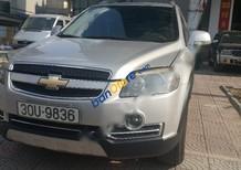 Cần bán xe Chevrolet Captiva Maxx LTZ sản xuất 2009, màu bạc chính chủ