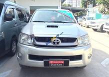 Bán xe Toyota Hilux 3.0G sản xuất 2010 màu bạc