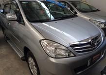 Bán Toyota Innova 2.0G 2009, màu bạc, giá chỉ 560 triệu