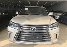 Cần bán Lexus LX 570 sản xuất 2017, màu vàng, nhập khẩu chính hãng
