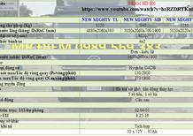 Cần bán Hyundai HD 800 có xe giao ngay-khuyến mãi trước bạ