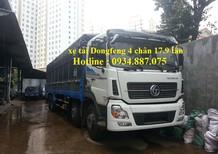 Bán xe tải Dongfeng 4 chân 17.9T (17T9) trả góp – xe tải Dongfeng 4 chân 17.9 tấn nhập khẩu mới nhất