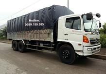 Bán xe tải Hino 3 chân FL 15 tấn thùng dài 7,6m và 9,2m mới 100% tại Hà Nội
