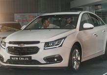 Bán xe Chevrolet Cruze LTZ 2017, màu trắng, giá chỉ 699 triệu tại Bắc Giang