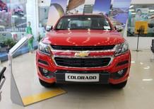 Cần bán xe Chevrolet Colorado 2017, màu đỏ, nhập khẩu nguyên chiếc, giá chỉ 839 triệu