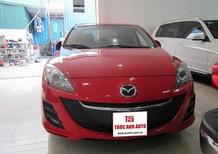 Cần bán xe Mazda 3 1.6AT 2010, màu đỏ, xe nhập, 495 triệu