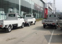 Bán ô tô Suzuki Super Carry Pro đời 2017, màu bạc, nhập khẩu