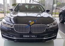 Bán BMW 7 Series 740Li đời 2017, màu đen, xe nhập