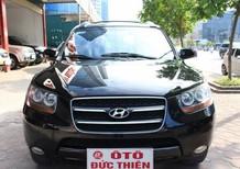 Ô tô Đức Thiện bán xe Hyundai Santafe MLX đời 2008, màu đen, tên tư nhân chính chủ