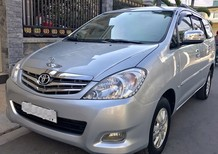 Cần bán gấp Toyota Innova V 2008, màu bạc, giá 475tr cực đẹp