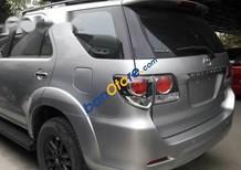 Cần bán xe Toyota Fortuner 2.7 V máy xăng 1 cầu, đời 2015, màu bạc