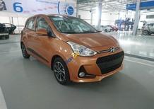 Bán xe Hyundai Grand i10 sản xuất 2018 màu cam, các phiên bản, mua xe chỉ từ 90 triệu, LH 090.467.5566