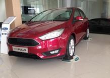 Bán ô tô Ford Focus Ecoboost 1.5AT năm 2017, màu đỏ, giá chỉ 766 triệu