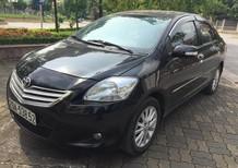 Cần bán xe Toyota Vios 1.5 E 2012, màu đen chính chủ từ đầu