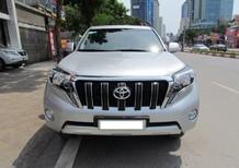 Toyota Prado 2014 màu bạc, giá tốt