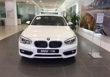 BMW 118i 2017, màu trắng, nhập khẩu, ưu đãi hấp dẫn, có xe giao ngay